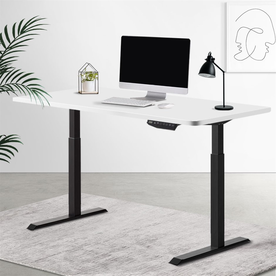 Artiss Standing Desk Sit Table Riser Motorised Electric Computer Desks