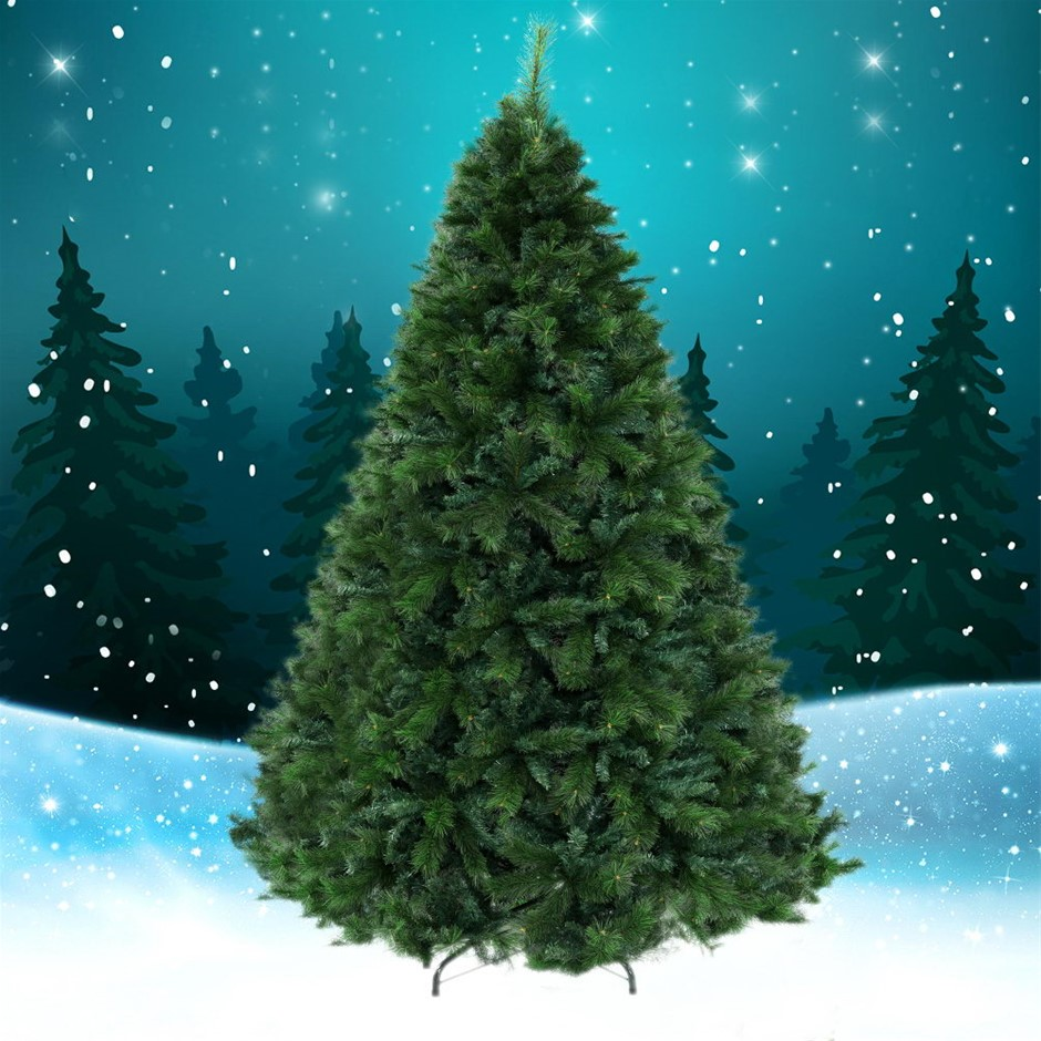 Jingle Jollys Christmas Tree 2.1M 6FT Xmas Decoration Green Home Décor