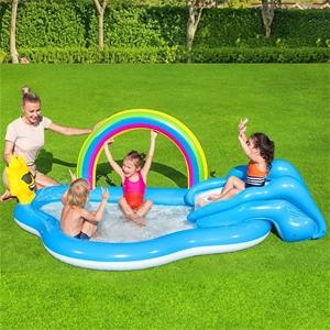 Bestway Swimming Pool Rainbow Slide Play