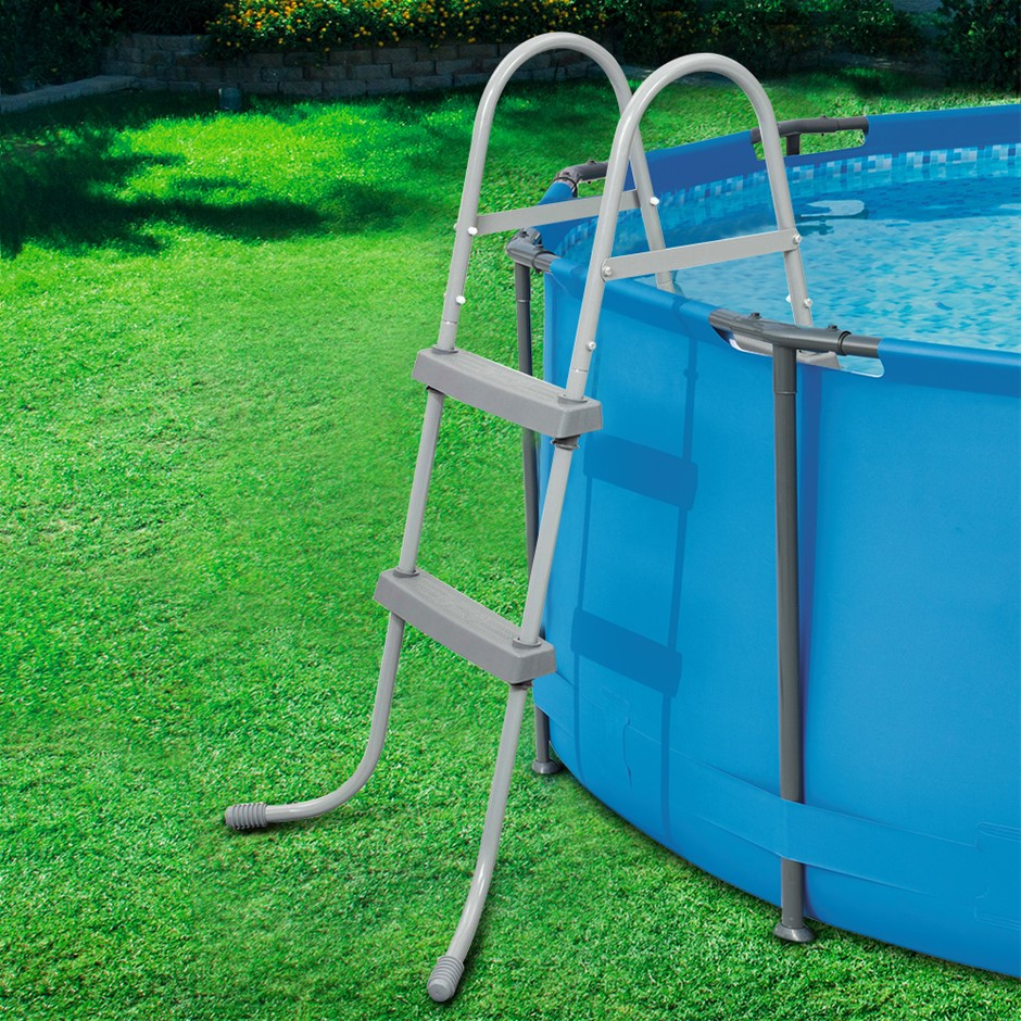 Bestway Ladder Above Ground Swimming Pools 84cm 32inch Deep Removable Steps