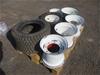 Qty 6 x Mower Wheel Rims