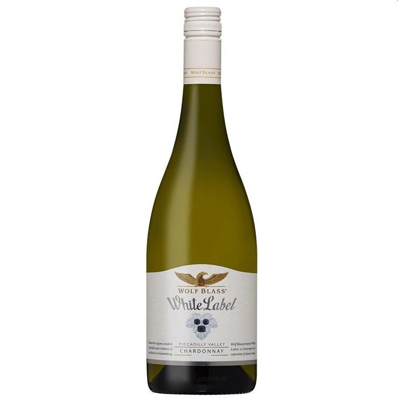 Wolf Blass White Label Chardonnay 2017 (6x 750mL)