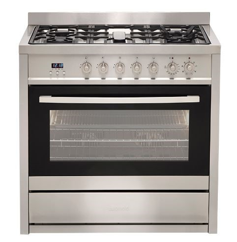 Euromaid Electric Oven + Gas Cooktop (EGE9TS)