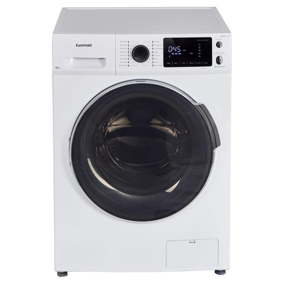 Euromaid 10kg Front load Washing Machine (WMFL10)