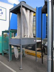 1 x 9 Bag Dust Extraction Unit