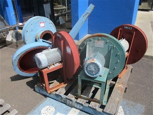 4 x Assorted Blower Fan Components