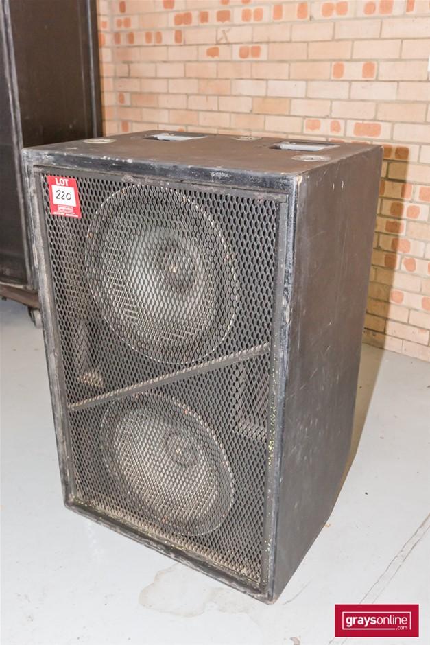 Meyer 650-R2 Sub Woofer Speaker Cabinet (Empty Box)