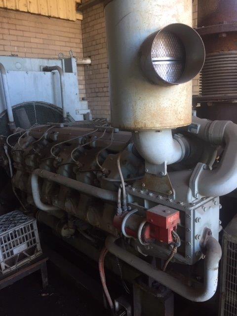 Second Hand Doorman Diesel 600 KVa Generator Set