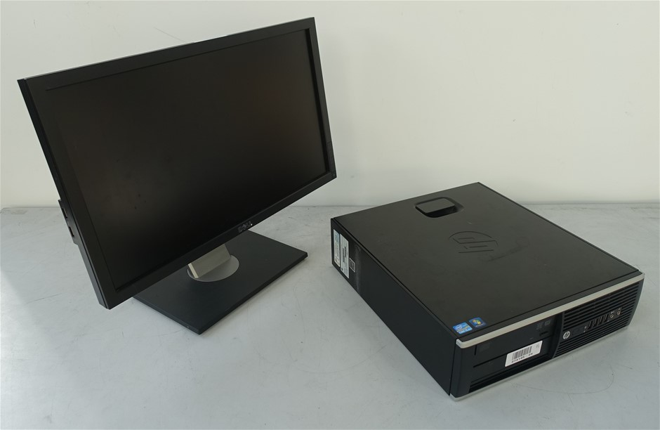 Hp Compaq Elite 8200 ( XL510AV ) Small Form Factor Desktop Pc