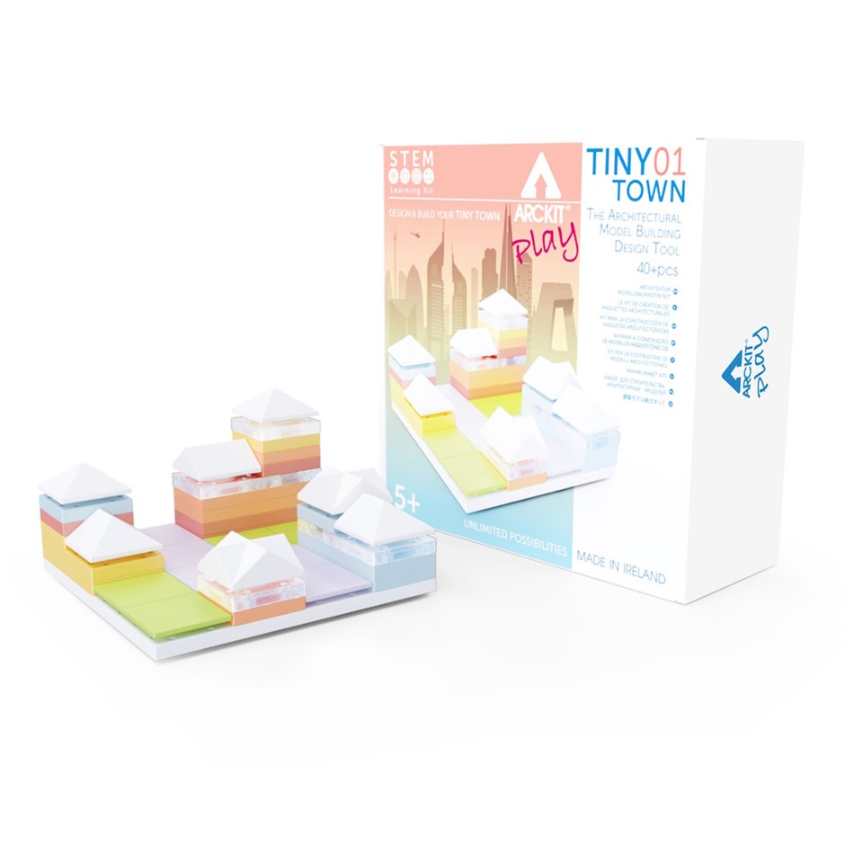 Arckit Play TinyTown 01- Architectural Model System