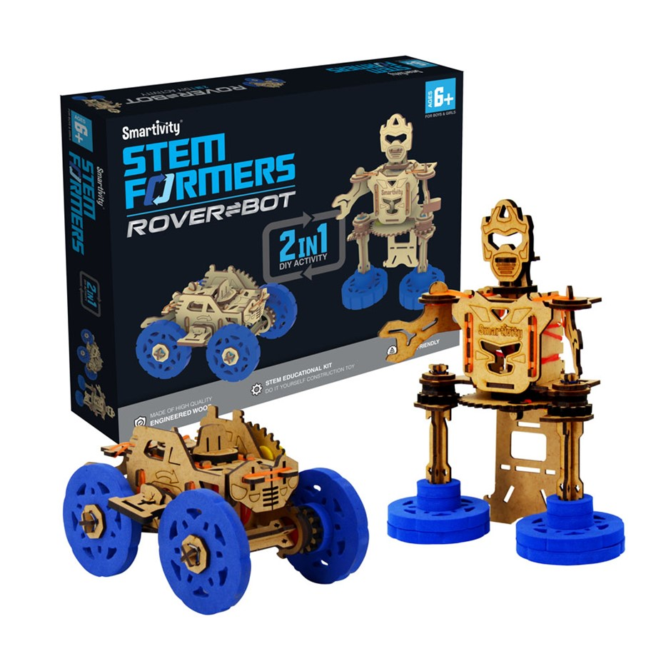 Smartivity STEMFormer (Windup car+Robot)
