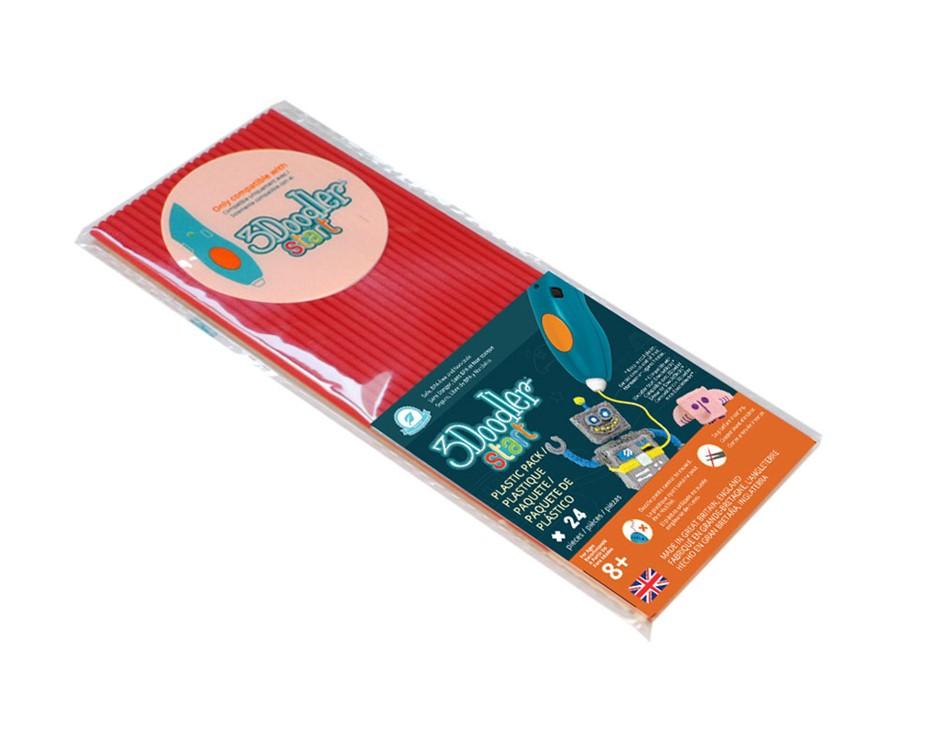 3Doodler Start Eco-Plastic-Cherry Red