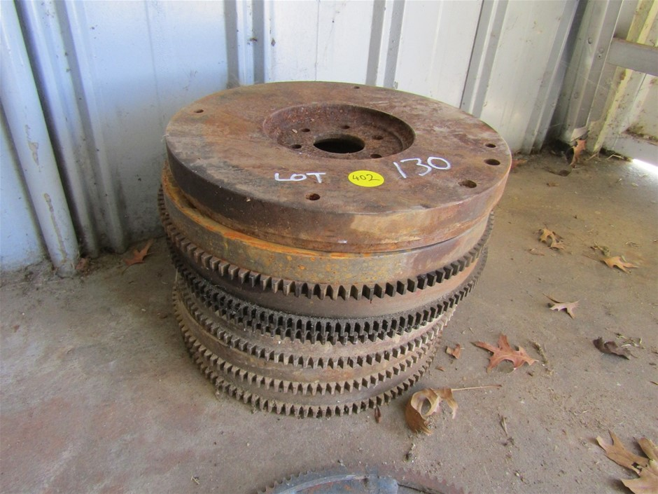 6 x Maual Flywheels and 1 x Auto Drive plate