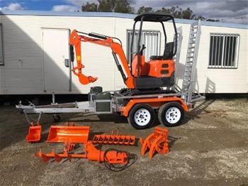 KOBOLT KX13 2020 Mini Excavator Package