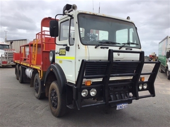 1990 Mercedes Benz 2235 8 x 4 Drill Support Truck