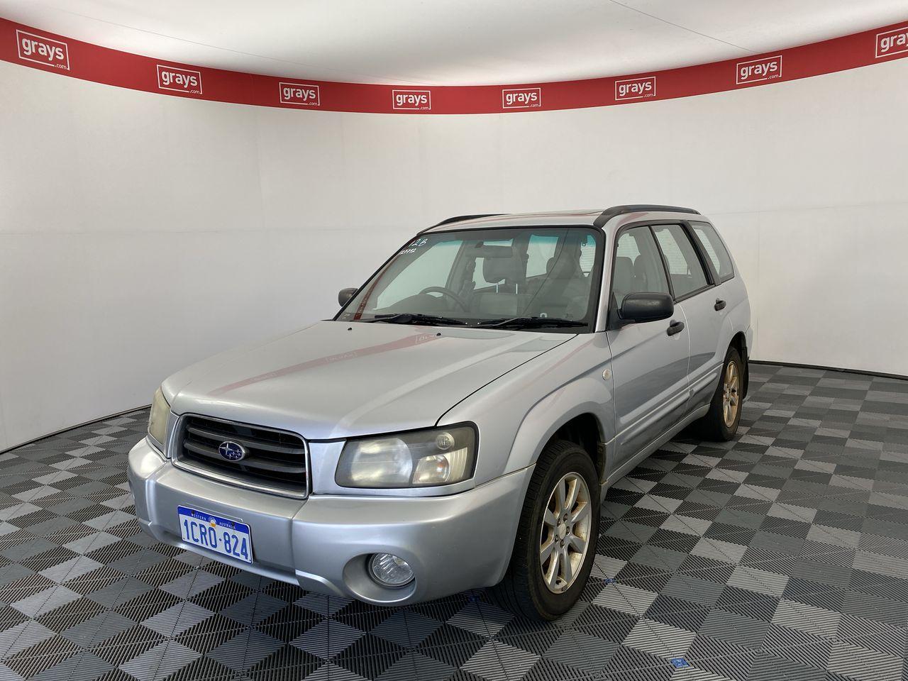 2004 Subaru Forester XS Luxury Manual Wagon