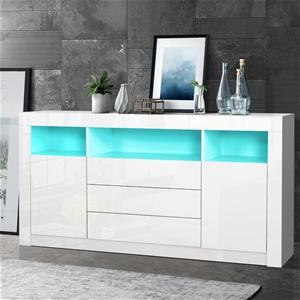 Artiss Buffet Sideboard Cabinet 3 Drawer