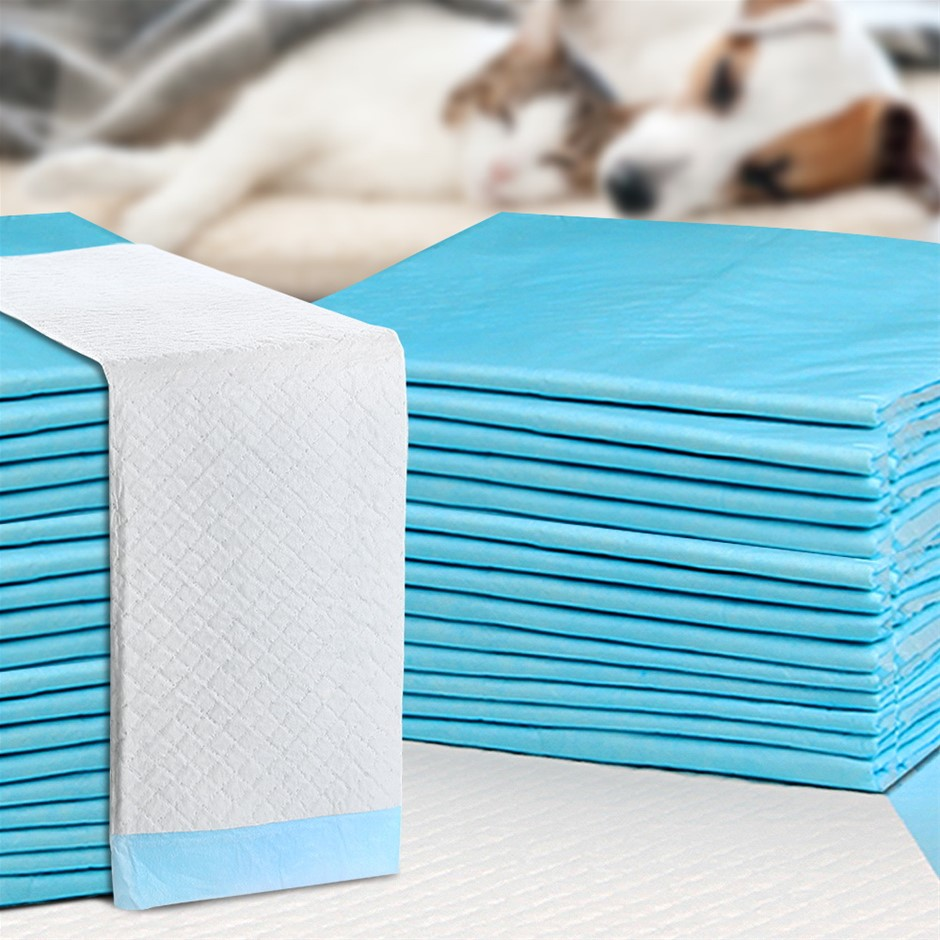 400pcs Puppy Dog Pet Training Pads Cat Toilet 60 x 60cm Super Absorbent