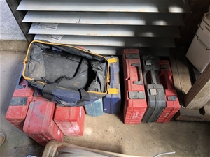 Assorted Tool Boxes Empty