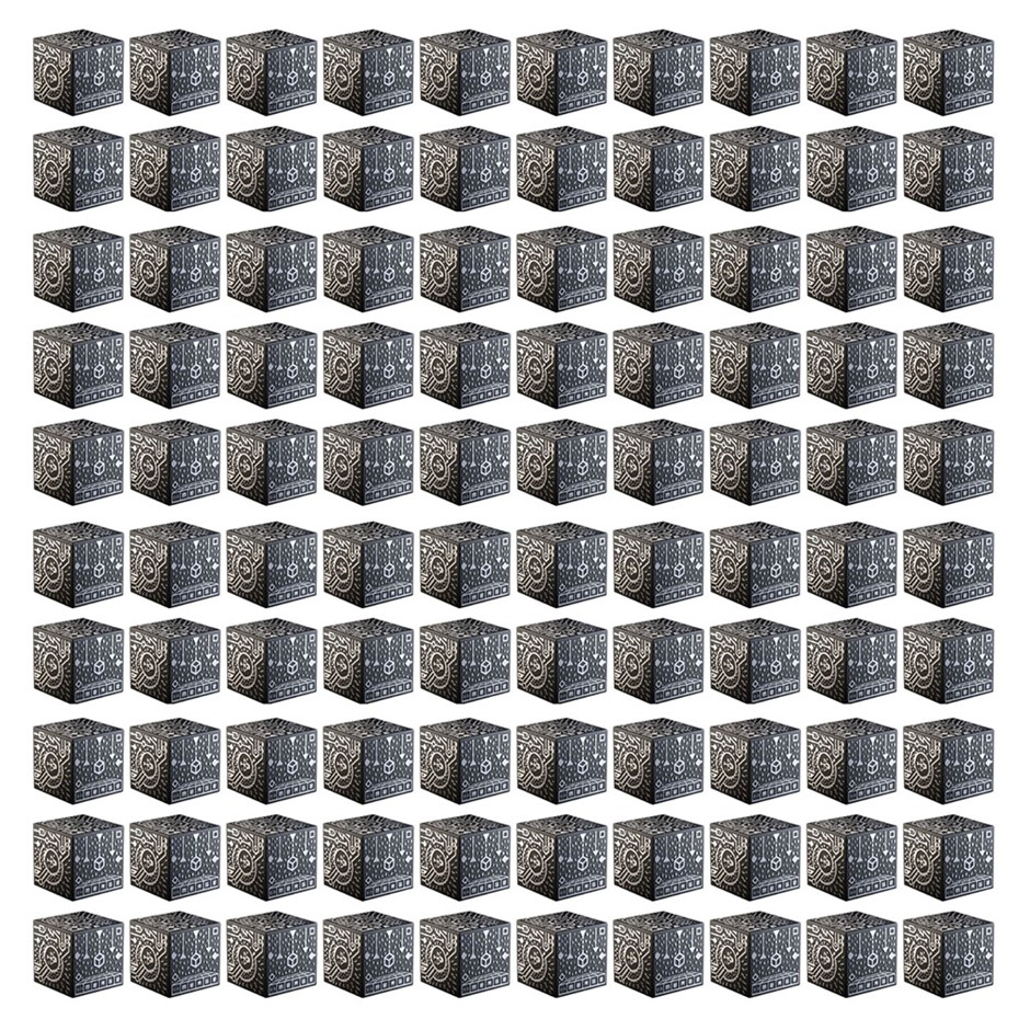 Merge Holographic Cube 100 Pack