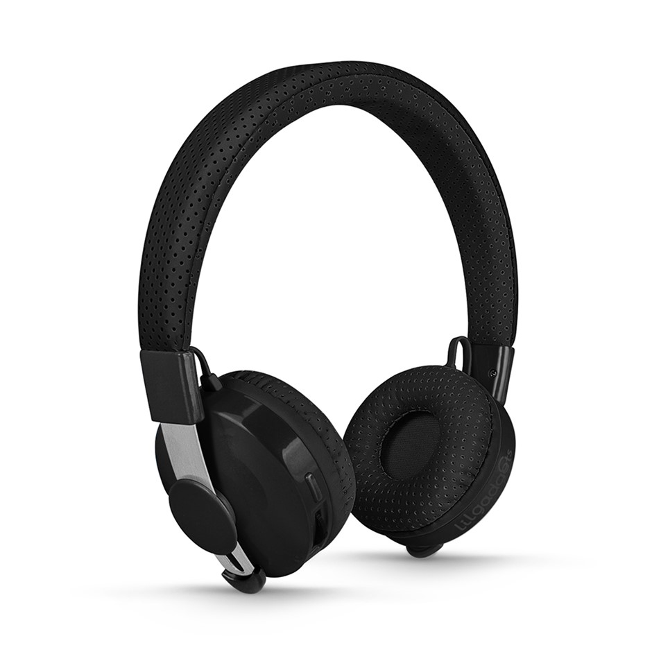 LilGadgets Untangled Pro Children's Wireless Bluetooth Headphones - Black