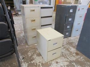 3 x Filing Cabinets