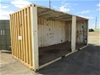 20ft Open Sided Shipping Container