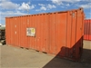 20ft Shipping Container (Red)