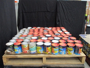 Pallet of 1L Assorted Paints