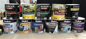 Pallet of 4L Assorted Paints