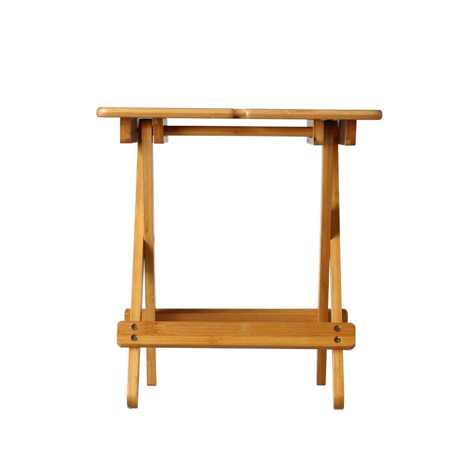 Sherwood Foldable Organic Bamboo Wine Table Medium 33*25*35cm
