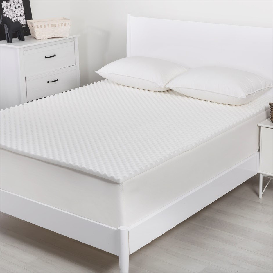 Dreamaker Convoluted Foam Underlay Queen Bed