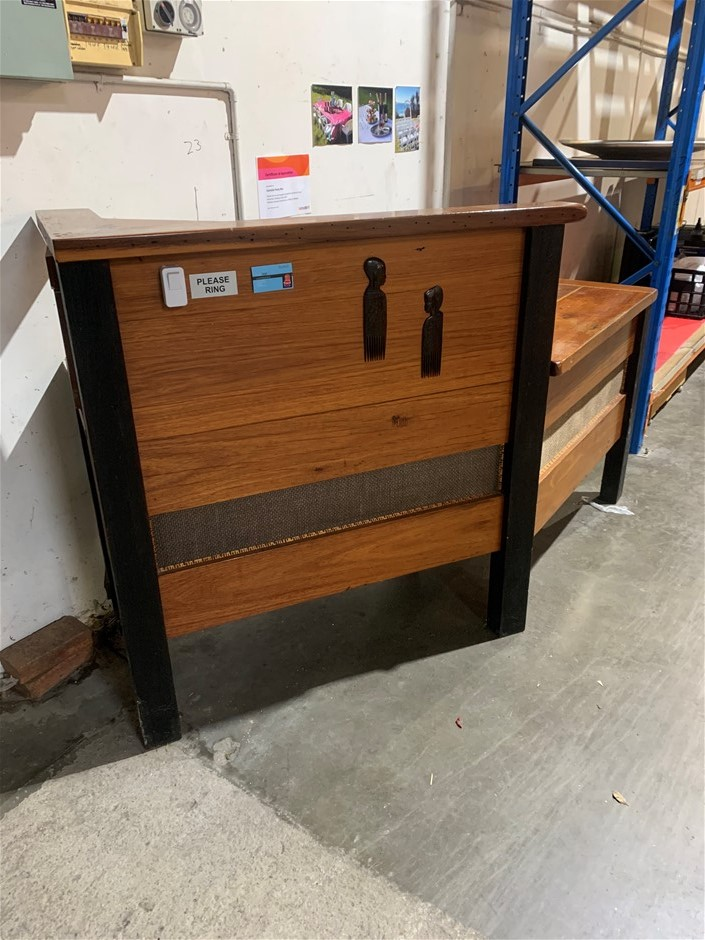 Welcome Desk - Solid Timber