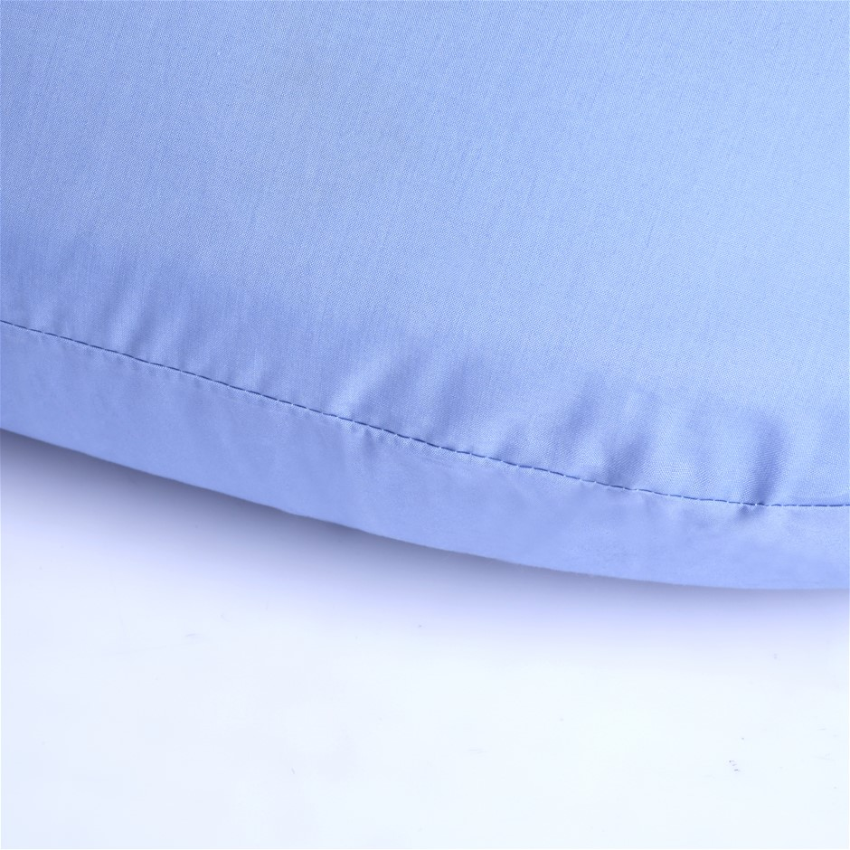 Dreamaker 250TC Plain Dyed V shape Pillowcase- Lavender
