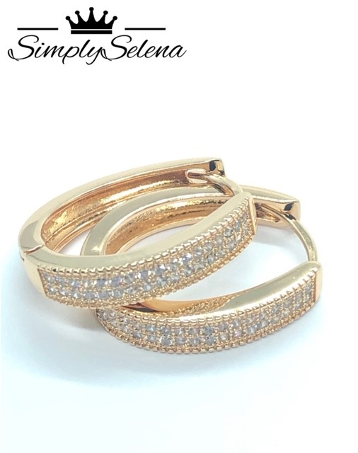 18k Gold Plated Earrings by SimplySelena Summer Collection