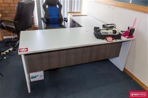 2x left Hand Return Office Desk