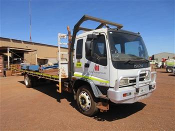2007 Isuzu FTR900 LWB Single Cab Truck