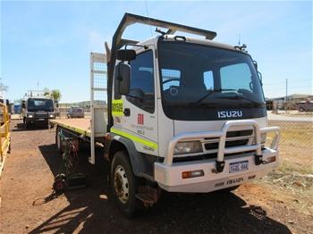 2007 Isuzu FVR950 LWB 9T Single Cab Truck