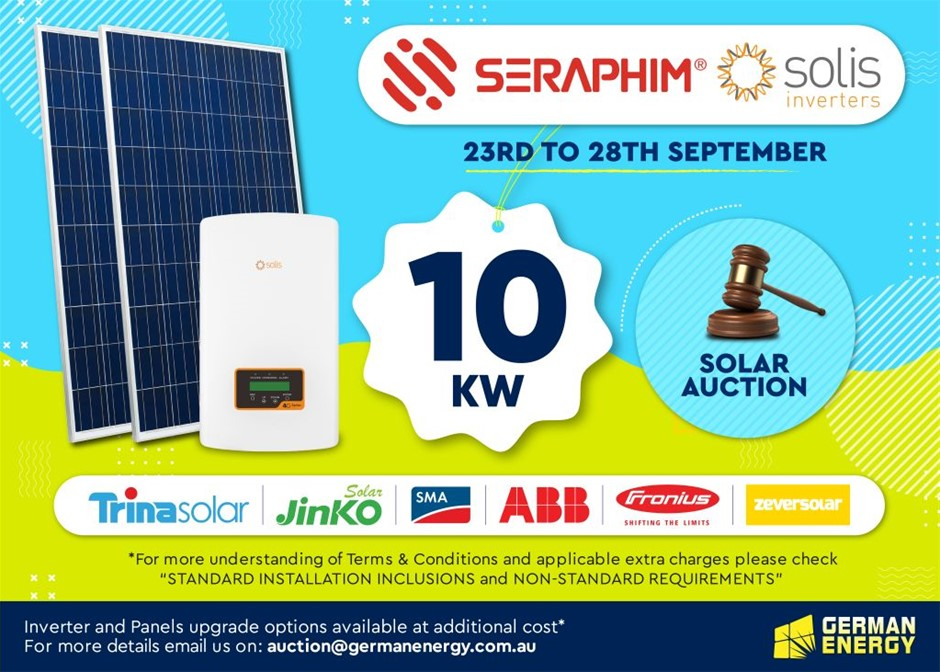 10 KW Solar PV System with Standard Installation Inclusions