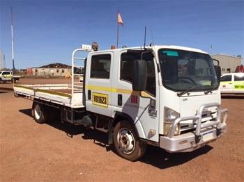 2008 Isuzu NQR450 5T Single Cab Truck