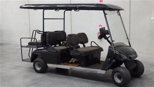 6 Seat Electric Club Car / Cart People Mover