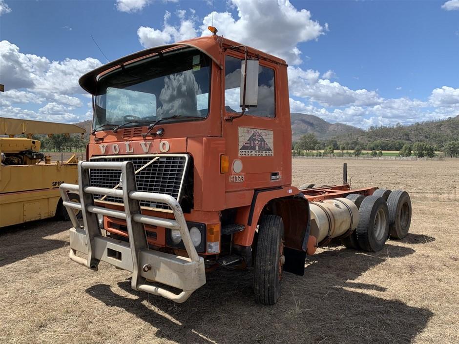 1981 Volvo F10 6 x 4 Prime Mover Truck