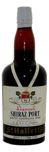St Halletts Liqueur Shiraz Port NV (1x 7