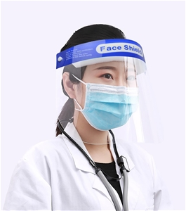 6x Safety Full Face Shield Clear Protect