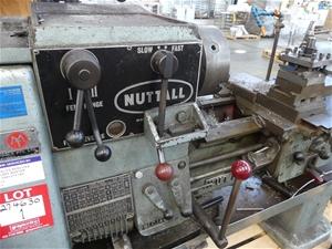 NUTTALL Unknown Engineering Lathe