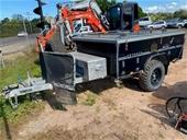 Camper, People Mover, Water Pumps, Excavator & More