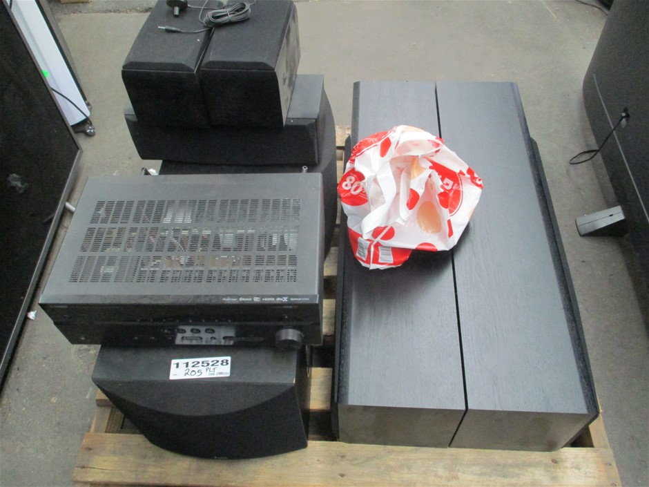 Yamaha HTR-5072 Home Theatre System