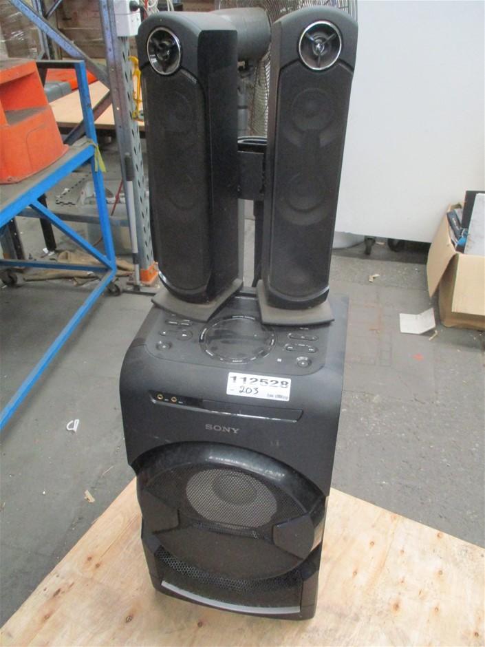 Sony SA-WGT4D Portable 2.1 Sound System