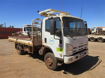 2009 Isuzu NPS 300 4x4 Tray Body Truck