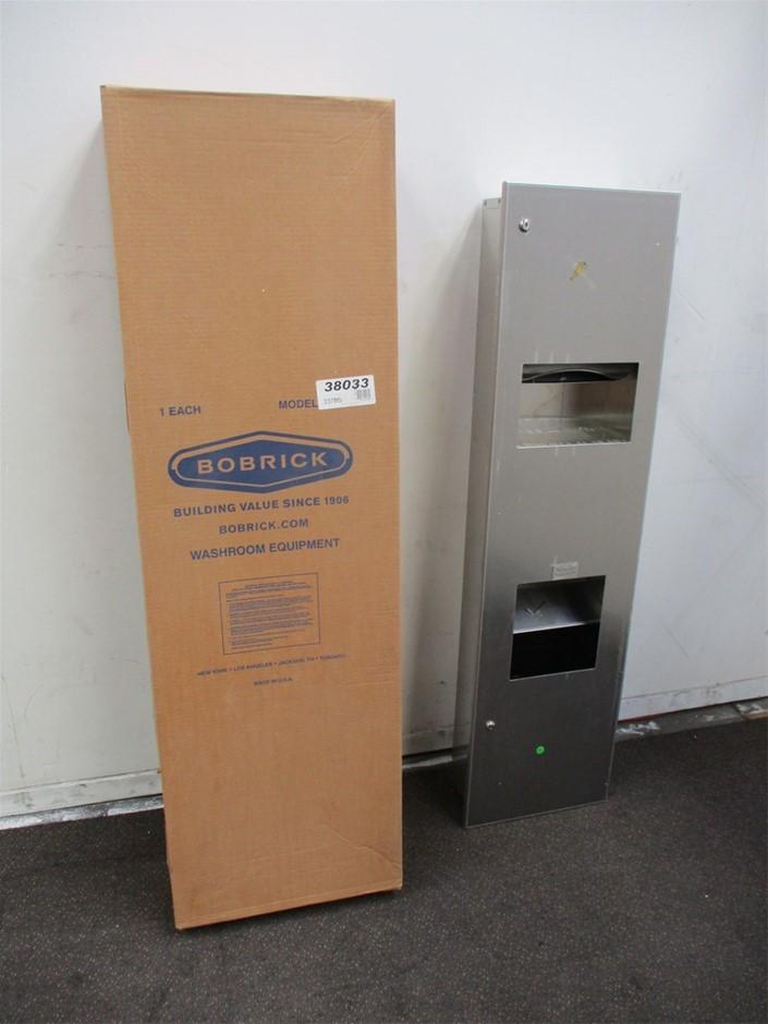 Qty 2 x Bobrick Paper Towel and Hand Dryer Dispenser